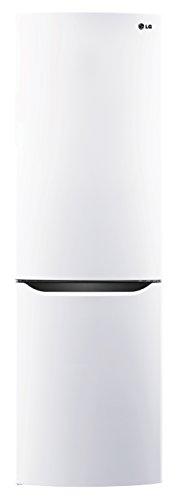 LG Electronics GBB 339 SWJZ Kühlschrank Kühl- / Gefrierkombination / A++ / 190,7 cm / 236 kWh/Jahr / 225 L Kühlteil / 87 Gefrierteil / innenliegendes LED-Display / premium weiß
