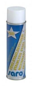 Saro R 50 - Detergente in acciaio INOX, 400 ml, spray senza gas propellente con aria pulita al 100%