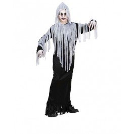 GHOUL 158cm (hooded robe belt) GHOST HALLOWEEN FANCY DRESS (Ghost Ghoul Kostüm)