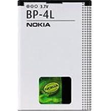 Nokia BP-4L Lithium Polymer (Lipo) 1500mAh 3,7V Akku wiederaufladbar–Akkus (Lithium Polymer (Lipo), 1500mAh, Browser/Laptop/Handy, 3,7V, Weiß, Nokia 6650Nokia 6760slide Nokia E52Nokia E55Nokia E63Nokia E71Nokia E72Nokia E90...)