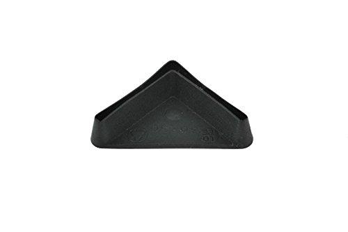 Winkel Eisen Fußschoner Kunststoff Endkappe Stahl Regal Rack Bein Möbel Made in Germany