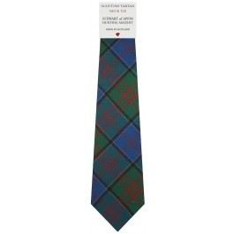 Mens All Wool Tie Woven Scotland Stewart Appin Hunting Ancient Tartan