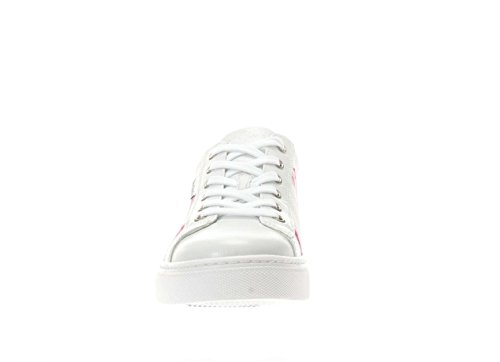 Nero Giardini Donna Sneaker P717268D-711 Sneaker fiorato Bianco fantasia