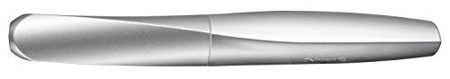 Pelikan 947101 Füller Twist in Faltschachtel, universell für Rechts- und Linkshänder, Feder M, silber - 5