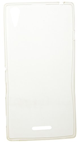 iCandy™ Soft Silicone TPU 0.3 mm Transparent Back Cover For Sony Xperia T3 - Transparent  available at amazon for Rs.175