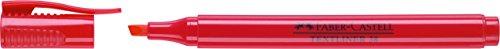 Faber-Castell-marcadore evidenziatori textliner 38 rosso, 10 Pezzi