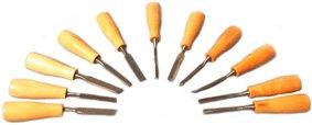 11 Holzschnitzer Schnitzmesser Schnitzwerkzeug für Modelliermasse Ton Knetmasse Strukturmasse