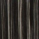 CLIP IN EXTENSIONS Straight Schwarzblond gesträhnt, 7-teilig, 60cm, 120g