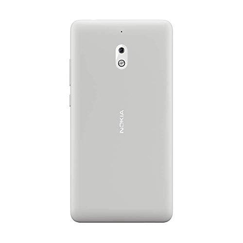 """Nokia 2.1 - Smartphone Dual SIM de 5.5"""" (4G, Qualcomm Snapdragon 425 1.4 GHz, RAM de 1 GB, Memoria de 8 GB, cámara de 8 MP, Android 8.0) Color Plata"""