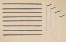 Preisvergleich Produktbild Auhagen 48643.0 - Dachrinnen, Fallrohre, bunt