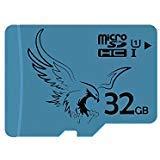 BRAVEEAGLE Micro SD Karte 32GB Klasse 10 U1 microSDHC Karte microSD Speicherkarte für Tablet/Smartphone Gorpo/Hero (32GB U1)