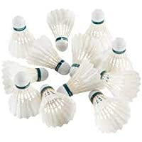 gyronax A3 Feather Badminton Shuttlecock(Pack of 10)