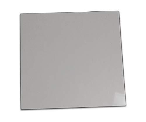 Sichtscheibe für Techfire Aldebaran Kaminöfen - Passendes Kaminofen Ersatzteil, Glasscheibe, Kaminglas, flach, Maße: 310 x 300 x 4 mm