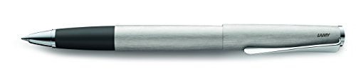 Lamy Studio Tintenroller mit Gravur strichmattiert Edelstahl Rollerball Modell 365 (Lamy Studio Rollerball)