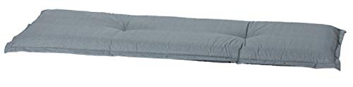 Madison Luxus 4-Sitzer Bankauflage A 046', ca. 180 x 48 x 8 cm, Uni grau