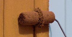 Nut Muelle Y Rodillo pelo microfibra 12cm-9mm-Incluye