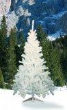 House of Fun  Candia Albero di Natale, 350 rami, Bianco, 150 cm