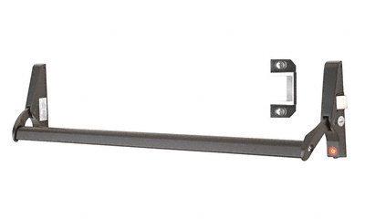 Crossbar-panic Exit Device (C.R. LAURENCE 311095RC4313 CRL Dark Bronze 48 Jackson 10 Series Right Hand Reverse Bevel Crossbar Rim Panic Exit Device by C.R. Laurence)