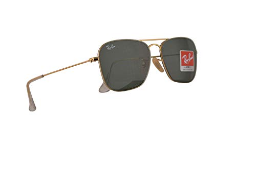 Ray-Ban RB3603 Sunglasses Gold w/Green Lens 56mm 00171 RB 3603