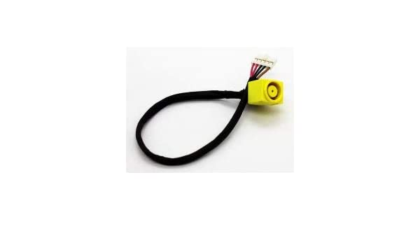 Original DC power jack plug in cable for LENOVO Essential B590   50.4TE08.031