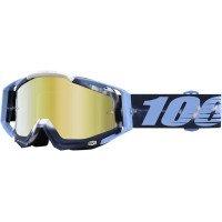 100% Prozent Racecraft Goggle Brille Verspiegelt DH MTB MX Downhill Mountain Bike Moto Cross, HU-GOG-0010, Modell Tiedye