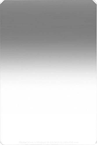 Rollei Profi Rechteckfilter Mark II - Grauverlaufsfilter (100x150 mm) mit mittlerem Verlauf aus Gorilla Glas - Medium GND 8 (3 Stops/0,9) 100 mm-System