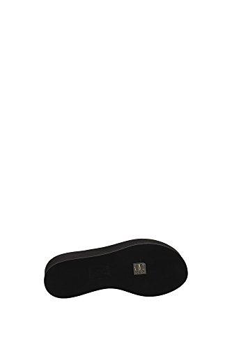 8R6081TTYF0ZE7 Fendi Compensée Femme Cuir Noir Noir