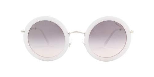 Miu Miu Sonnenbrillen Ring SMU 59U White/Grey Shaded Damenbrillen