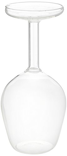 Upside Down Wine Glass 13.2oz / 375ml - Novelty Wine Glass Gift