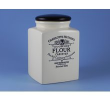 Charlotte Watson Square Large Flour Canister