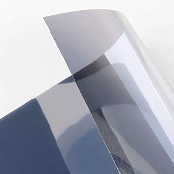 TOOGOO(R) Sonnenschutzfolie Getoente Scheiben 0.5 * 3 m - Silber - Fenster-folie Getönte