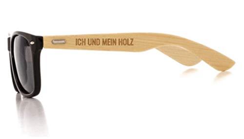 Preisvergleich Produktbild HOLZBRÜDER® Sonnenbrille für die Arbeit im Wald perfekt für alle Holz und Kettensägen Freunde (Polarisiert)