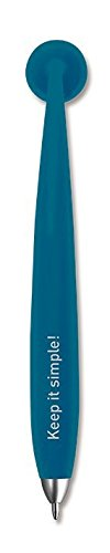 Sticky Jam Magnetischer Kugelschreiber - Magnetic Pen Sticky Pen (Blau)