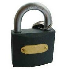 Guilty Gadgets ® - 50mm Secure Cast Iron Padlock Gate