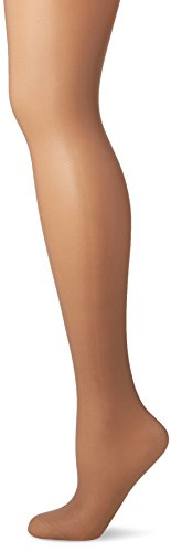 Fiore Damen Shapestrumpfhose FIT-CONTROL 20 den/BODYCARE Strumpfhose, Braun (Natural 015), Large (Herstellergröße:4) -