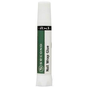 ibd 5 Second Nail Wrap Glue 2g/0.07oz by ibd