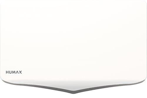 HUMAX Digital H40D2 Flat Spiegel SAT Flachantenne für 2X Teilnehmer weiß