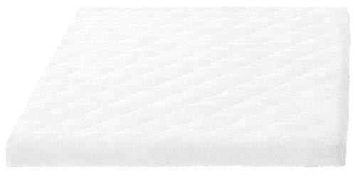 Trockner und Waschmaschinenschonbezug in versch. Farbe, Größe: ca.60 x 60 x 5 cm von Brandseller (Weiß)