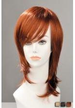 (World Wigs Perücke brünette quadratisch lang Stabmixer/Strähne)