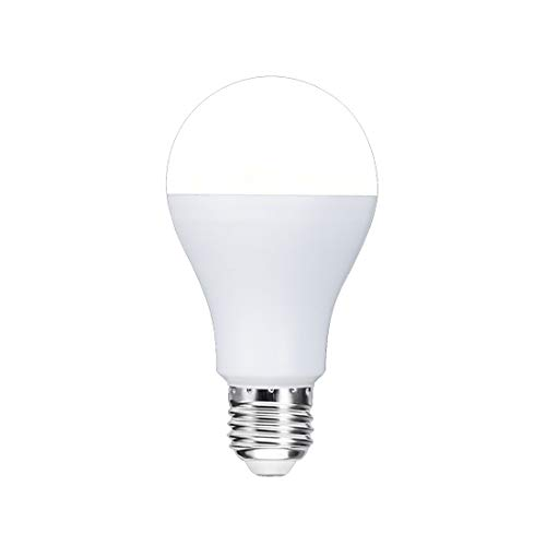 YWUAEN WiFi Smart Bulb Colour Dimmable LED Light E27 Bayonet Equivalent Bulb, Fernbedienung von Smart Device und Voice Control von Amazon Alexa & Google Home No Hub Required