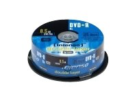 Intenso DVD+R 8,5GB Double Layer 8x Speed 25er Spindel 8 Gb Dvd