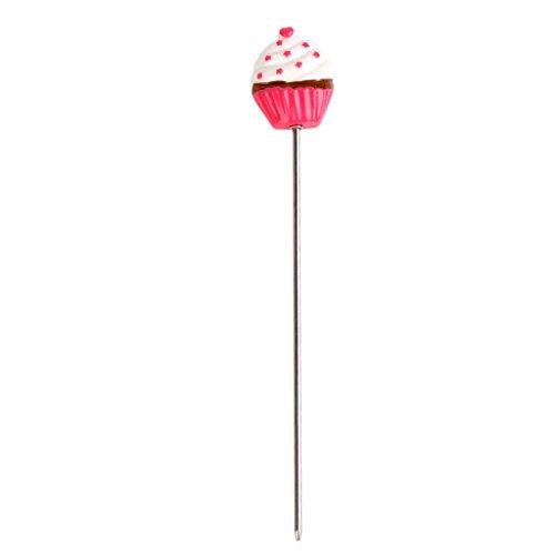 webest Edelstahl Kuchen Tester Spieß Backen Werkzeug in Cupcake-Form