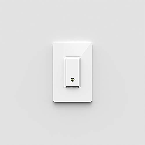 Belkin Wemo Lichtschalter, Kontrolle Ihrer Beleuchtung von überall mit Dem Home Automation App für Smartphones und Tablets, WI-FI Aktiviert