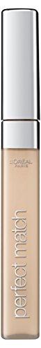 L'Oréal Paris Perfect Match Concealer Nr. 1R/1C rose ivory, korrigiert Augenringe, kaschiert kleine Makel und hellt Schattenzonen im Gesicht auf