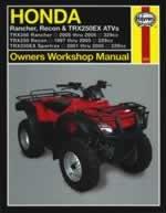 Manuel Honda Rancher et TRX 350Quad Haynes. par  Quadmaxx