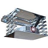"""L-Lift Beamer Deckenlift """"der Schmale"""" nur 56cm breite , Projektor Lift mit 80cm Hub inkl. Funksteuerung & inkl. Fernbedienung"""