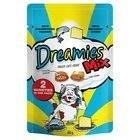 Dreamies Katze Behandelt Mit Leckeren Lachs Und Leckeren Käse (60 G) Mischen