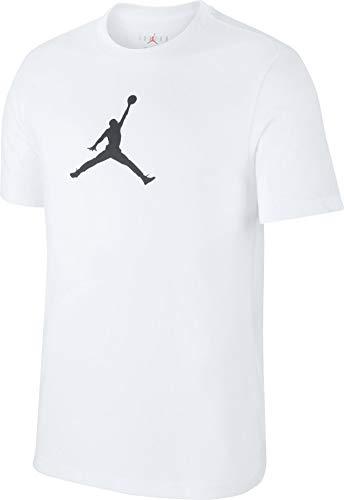 Nike Herren ICON 23/7 Tee SPSU19 T-Shirt, White/Black, M - Jordan T-shirt