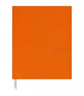 Montblanc Sketchbook 116224 Fine Stationery #149 - Leder Notizbuch A4 liniert mit Softcover - Farbe: Manganese Orange - 272 Seiten -