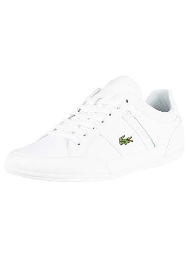 Lacoste Chaymon Sneaker Herren weiß, 10 UK - 44.5 EU - 11 US
